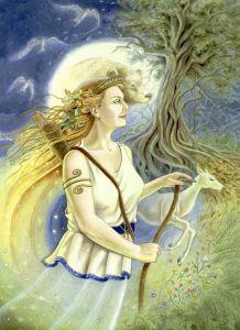 Diana diosa romana