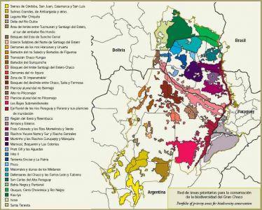 áreas prioritarias conservación Gran Chaco Argentina