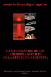 categorización anfibios y reptiles argentina