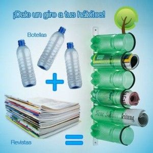 reciclado de botellas pet.