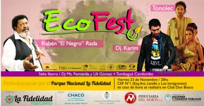 Ecofestival por el Parque Nacional La Fidelidad