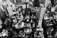 Ciudades en negro y blanco