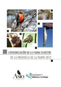 categorizacion fauna la pampa