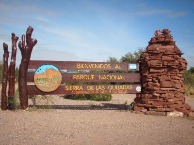 Parque Nacional Sierra de las Quijadas, San Luis