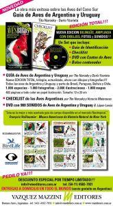 Nueva Guía de Aves de Argentina y Uruguay